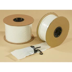 White Front / Clear Back, Pre-Opened Bags 2 mil, 8X10, 1250 per Roll, Clear