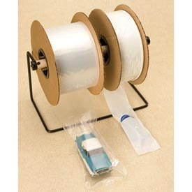 "Pre-Opened Bags, 7""W x 8""L 139 Mil Clear, 1250 per Roll"