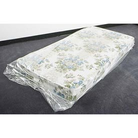 Mattress Bags, Twin 4 mil, 39X9X90, 50 per Roll, Clear