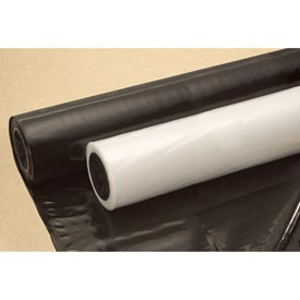 Construction & Agricultural Film, 10'W x 100'L 6 Mil Clear, 1 Roll