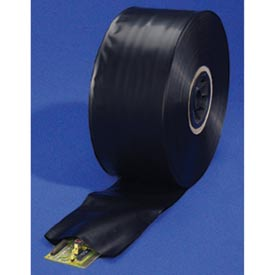 Black Conductive Tubing 4 mil, 14, 1 per Roll, Black