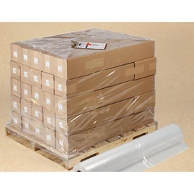 """Poly Pallet Top Sheeting, 36""""W x 48""""L 1.5 Mil Clear, 600 per Roll"""