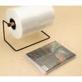 "Layflat Bags on a Roll, 9""W x 12""L 2 Mil Clear, 1000 per Roll"