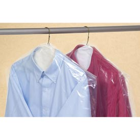 Clear Garment Bags on a Roll 0.6 mil, 21X4X38, 510 per Roll, Clear