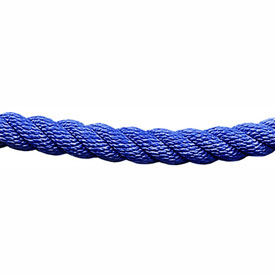 Tensator 1' L Blue Twisted Rope