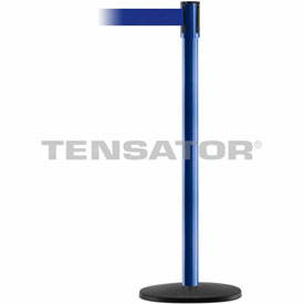 Tensabarrier Blue Slimline 7.5'L BLK/YLW BlueRetractable Belt Barrier