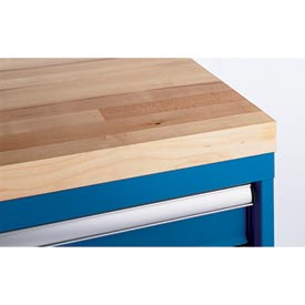 Butcher Block Shallow Depth Cabinet Top