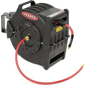"Legacy MFG L8310 3/8"" x 100' Levelwind Retractable Air Hose Reel"