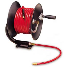 "Legacy L8650 3/8"" x 50' Manual Air Hose Reel Workforce Contractor Series"