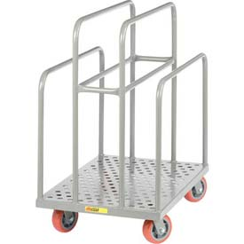 Little Giant® Perforated Deck Lumber Cart LCP-2436-S-6PY, 36 x 24 2000 Lb. Capacity