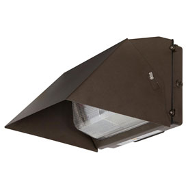 Luminance F7416-66 LED Wall Pack Prismatic Lens, 5000 Lumens, 4000K, IP65 Rated, Wet Location Rated