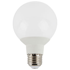 Luminance L7571 LED G25 Relpacement, E26 Base, 6W, 450 Lumens, 2700K, Energy Star Approved