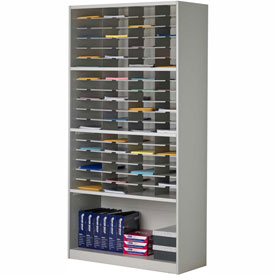 Mayline® Mailflow-To-Go Systems 1-Tier Elevated Sorter - 25 Pockets