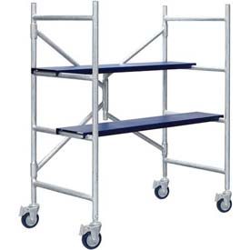 "Metaltech MINI™ Folding Scaffold Step Ladder 42-1/2""L x 21-1/2""W x 48-1/4""H - I-IMAC"