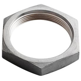 "Iso Ss 304 Cast Pipe Fitting Hex Locknut 1-1/2"" Npt Female"