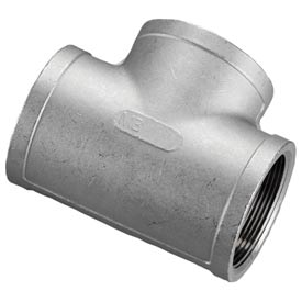 "Iso Ss 316 Cast Pipe Fitting Tee 1/4"" Npt Female - Pkg Qty 50"