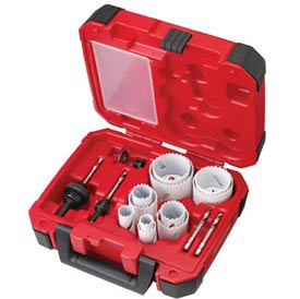 Milwaukee® 49-22-4175 15 Pc General Purpose Hardened™ Hole Saw Kit