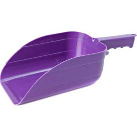 Little Giant Utility Scoop 90purple, Heavy-Duty Polypropylene, 5 Pt., Purple