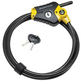 Master Lock® Python™ Adjustable Locking Cable, Price Each Sold Pack of 2