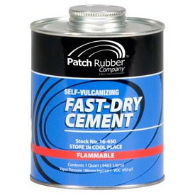 Fast-Dry Self-Vulcanizing Cement - 1 Quart