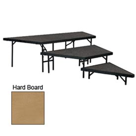 "Stage Pie Set with Hardboard for 36""W Stage Units - 8""H, 16""H & 24""H"