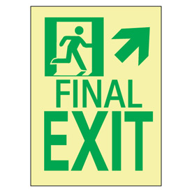 Glow NYC - Final Exit Up Arrow