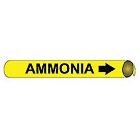 Precoiled and Strap-on Pipe Marker - Ammonia