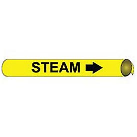 Precoiled and Strap-on Pipe Marker - Steam
