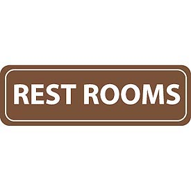 Architectural Sign - Rest Rooms