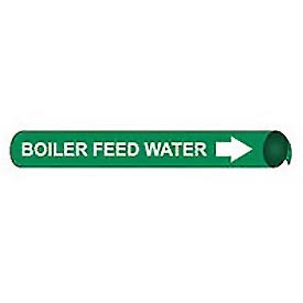 Precoiled and Strap-on Pipe Marker - Boiler Feed Water