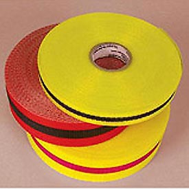 "Webbed Barrier Tape - Black/Yellow - 3/4""W"