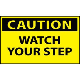 Machine Labels - Caution Watch Your Step