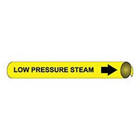 Precoiled and Strap-on Pipe Marker - Low Pressure Steam
