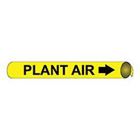 Precoiled and Strap-on Pipe Marker - Plant Air