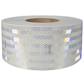 "NMC CT2W Conspicuity Reflective Tape, White, 2""W x 150'L, 1 Roll"