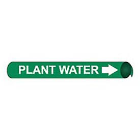 Precoiled and Strap-on Pipe Marker - Plant Water