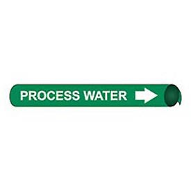 Precoiled and Strap-on Pipe Marker - Process Water