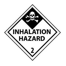 DOT Placard - Inhalation Hazard