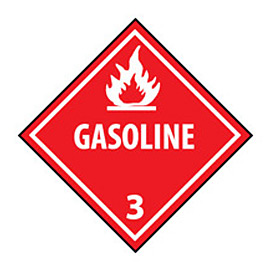 DOT Placard - Gasoline