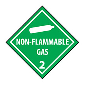 DOT Placard - Non Flammable Gas 2