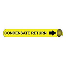 Precoiled and Strap-on Pipe Marker - Condensate Return