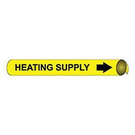 Precoiled and Strap-on Pipe Marker - Heating Supply