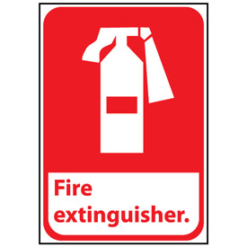 Fire Safety Sign - Fire Extinguisher - Vinyl