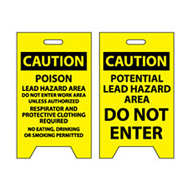 Floor Sign - Caution Potential Lead Hazard Area Do Not Enter