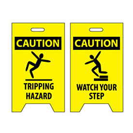 Floor Sign - Caution Tripping Hazard Watch Your Step