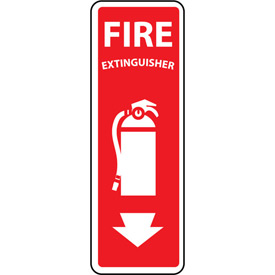 Fire Safety Sign - Fire Extinguisher - Plastic