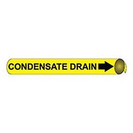 Precoiled and Strap-on Pipe Marker - Condensate Drain