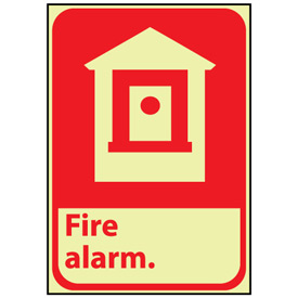 Glow Sign Vinyl - Fire Alarm