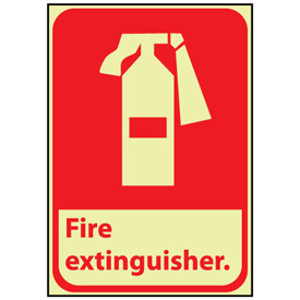 Glow Sign Vinyl - Fire Extinguisher
