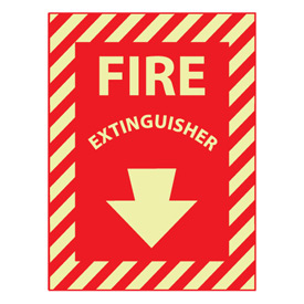 Glow Sign 12x9 - Fire Extinguisher